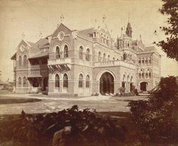 [Unidentified building, Bombay.]